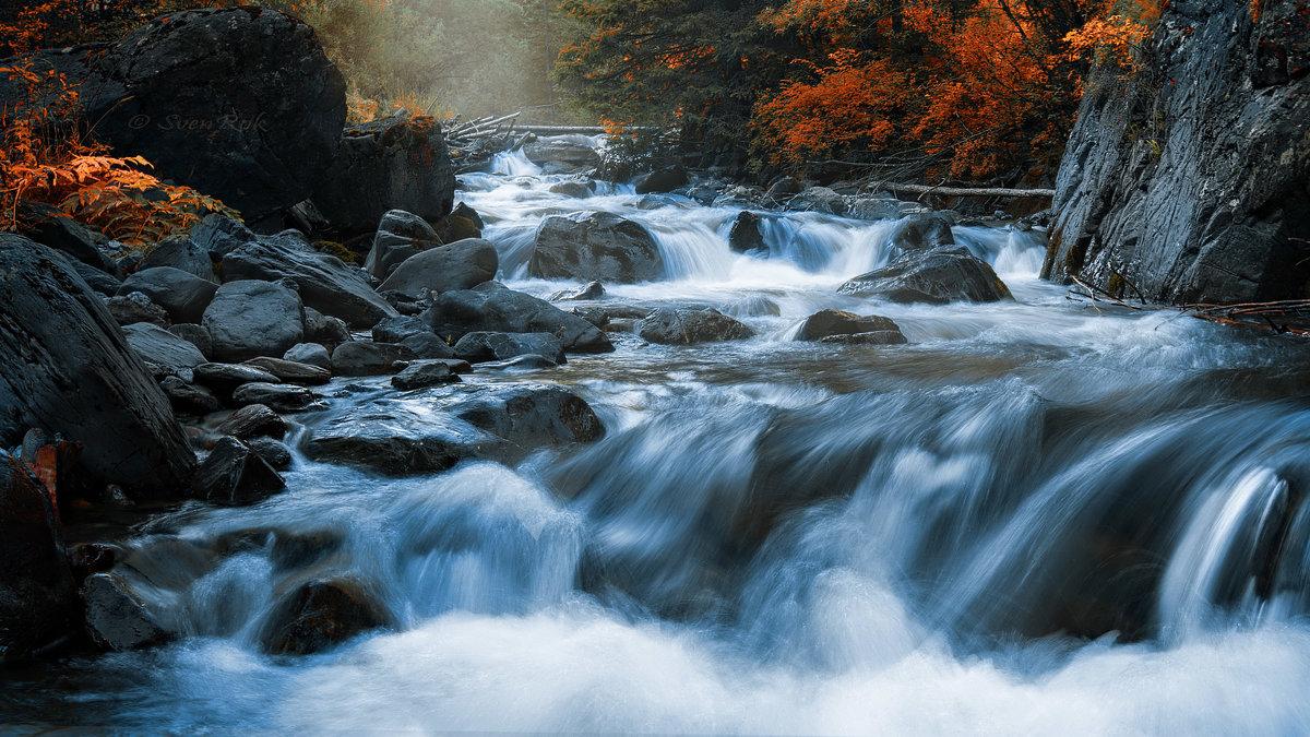 Горная река. - Sven Rok