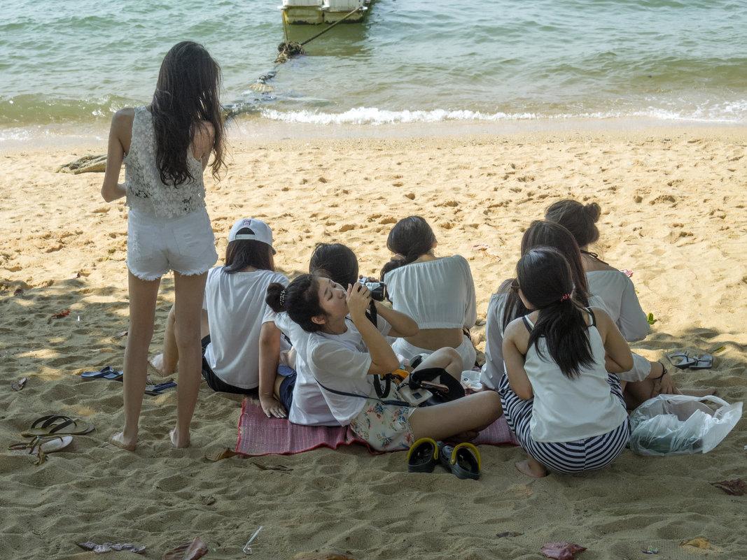 Таиланд. Паттайя. Китайская фотографиня - Владимир Шибинский