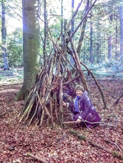 Как построить шалаш для милого - Лидия