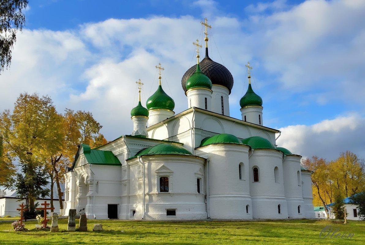 Собор. Федоровский женский монастырь в Переславле - Olcen - Ольга Лён