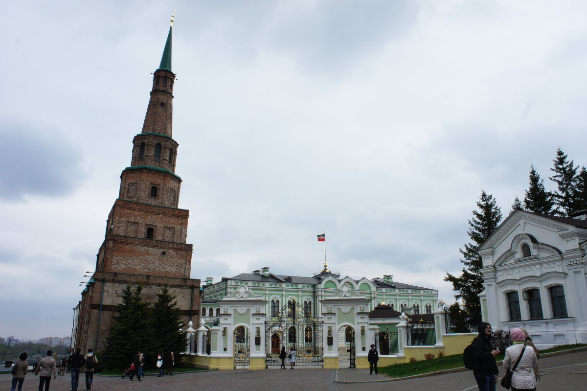 Комплекс Президентского дворца в Казанском кремле - Елена Павлова (Смолова)