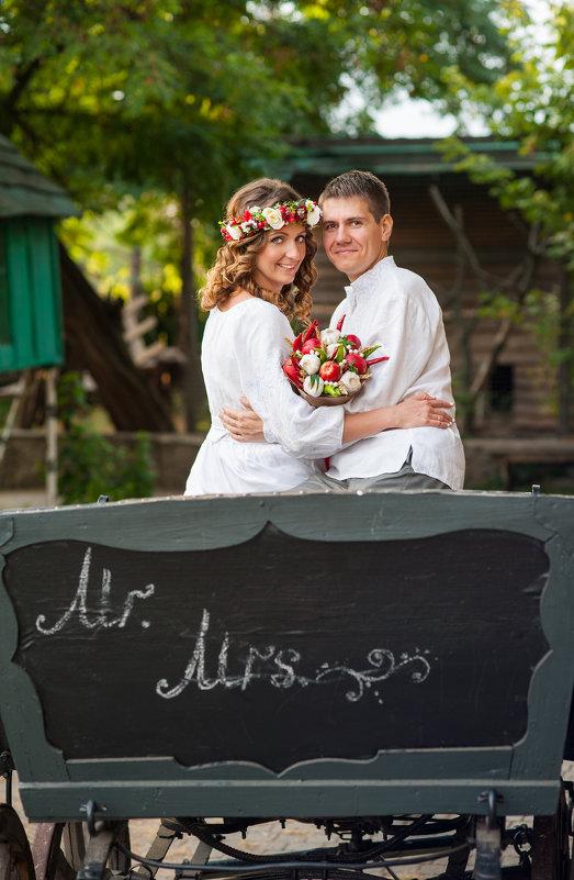 свадьба в украинском стиле - Кристина Волкова(Загальцева)