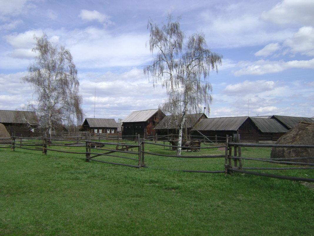 Село Шушенское. Весна - Марина Домосилецкая