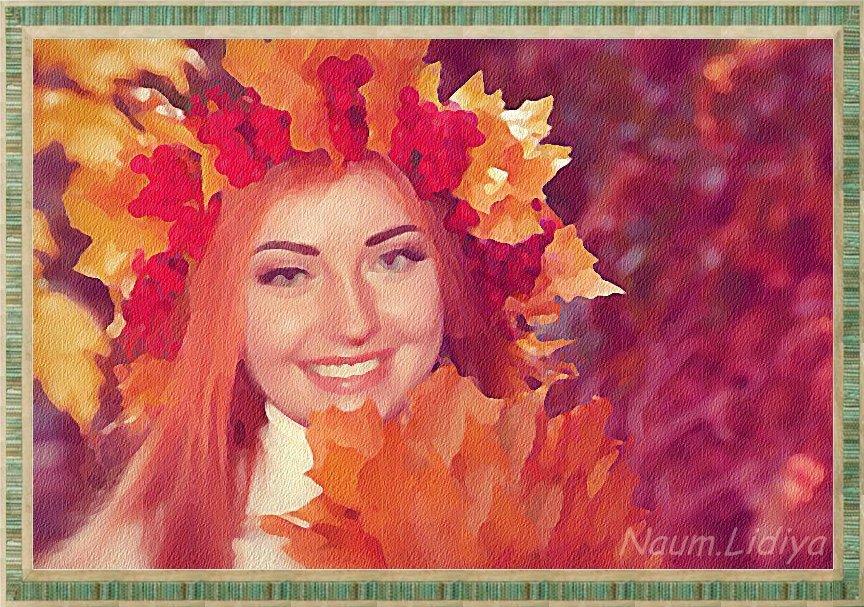 Осенний веночек - Лидия (naum.lidiya)