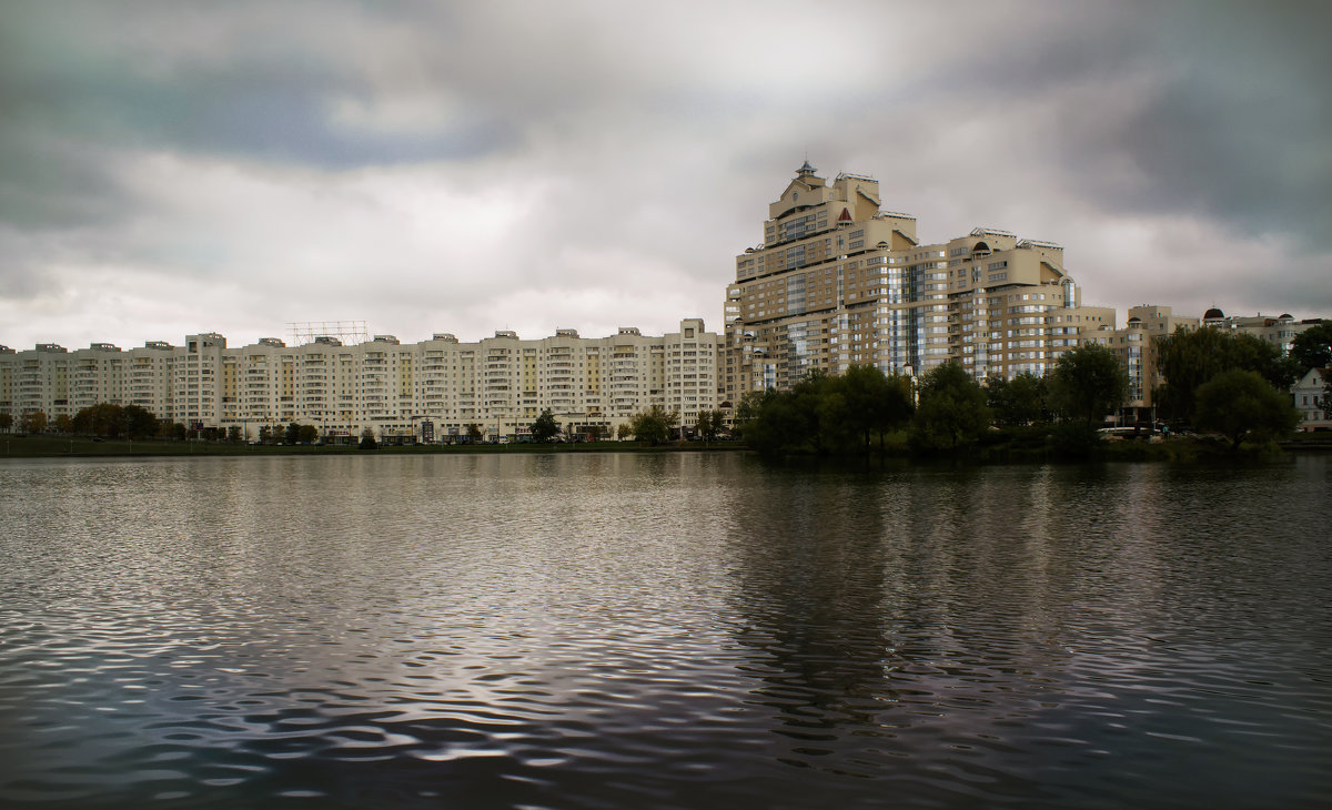 Пасмурный Минск - Наталья Понтус