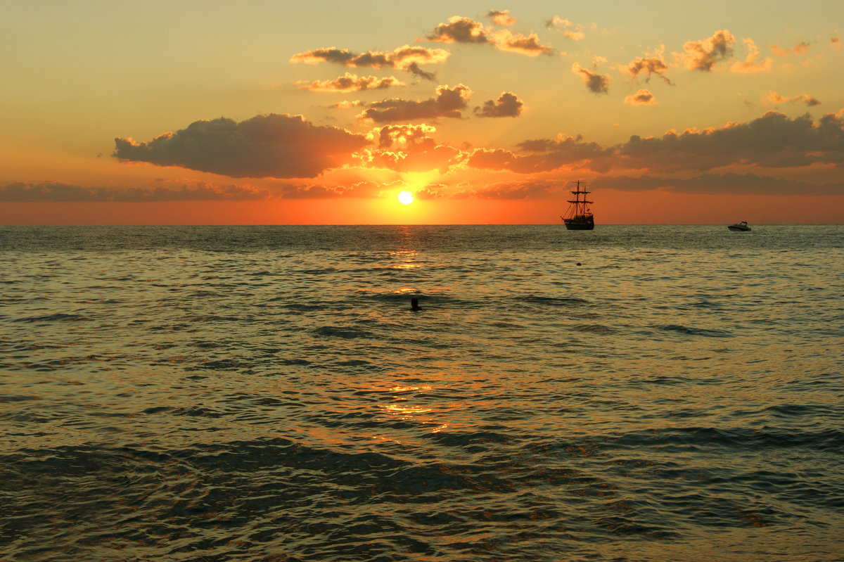 Доплыть до солнца - nika555nika Ирина