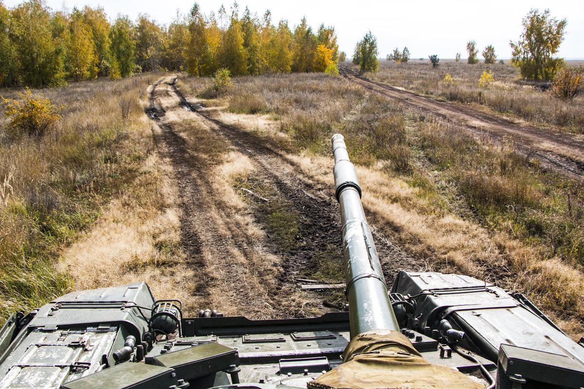 Осенний пейзаж. Вид с башни - Роман Скоморохов