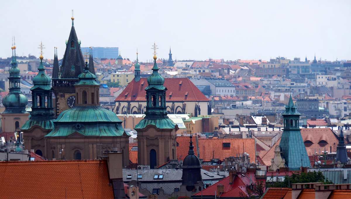 Прага на уровне крыш - Николай Ярёменко