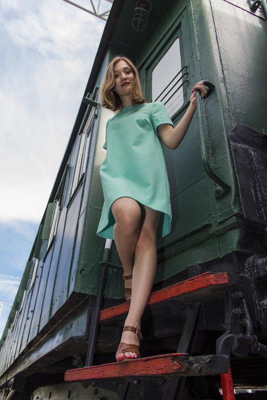И вот я с поезда схожу - Дима Пискунов