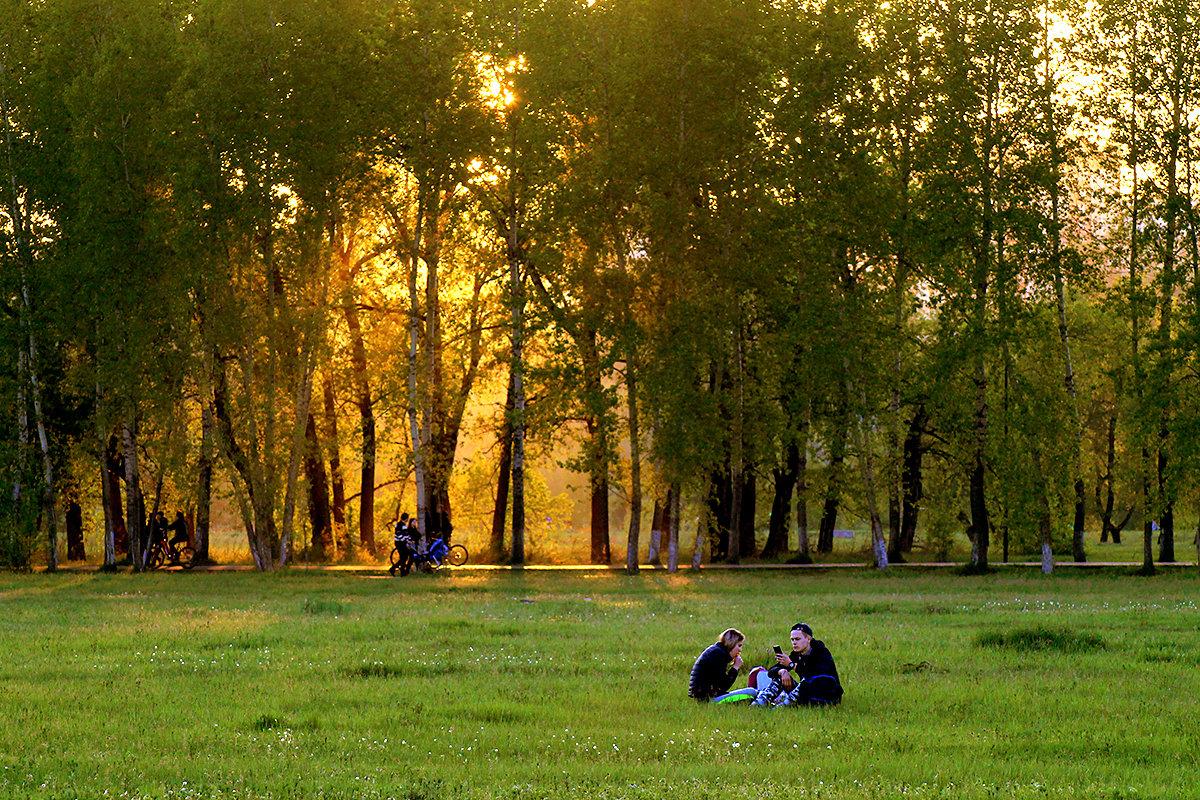 Щедрый на золото майский закат - Екатерина Торганская