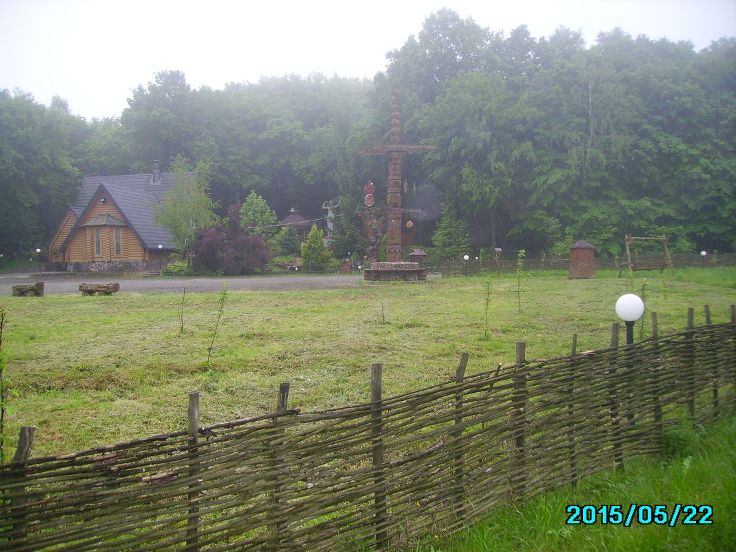Зона   отдыха  в   Крылосе - Андрей  Васильевич Коляскин