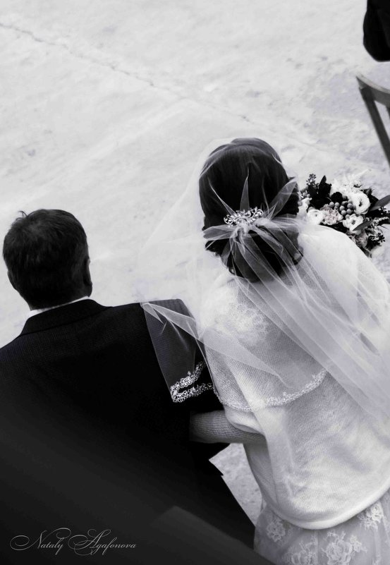отец вводит невесту - Наташа Агафонова