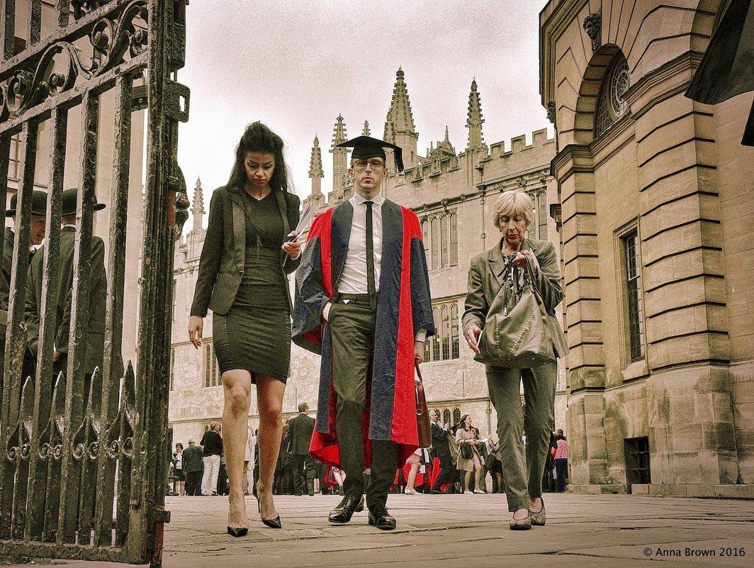 Оксфорд - Анна Браун