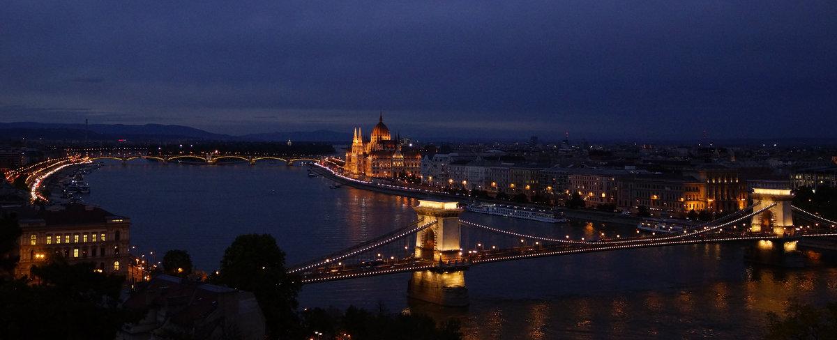 Вечерний Будапешт. - Vladimir
