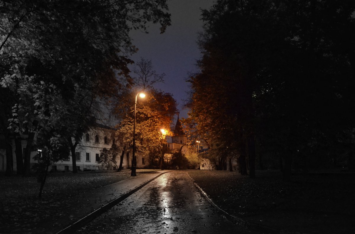 Осенний дождливый вечер. - Oleg4618 Шутченко