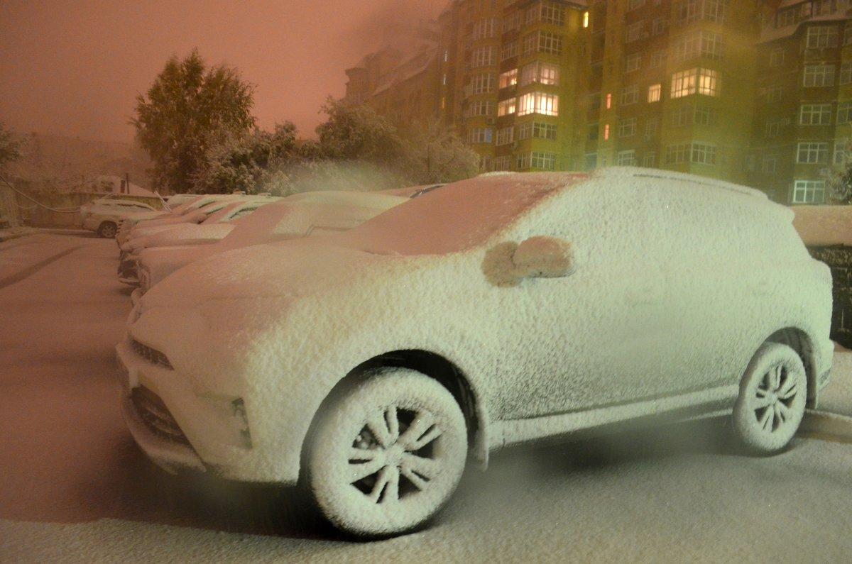 В Омске произошла серьезная погодная аномалия... - Savayr