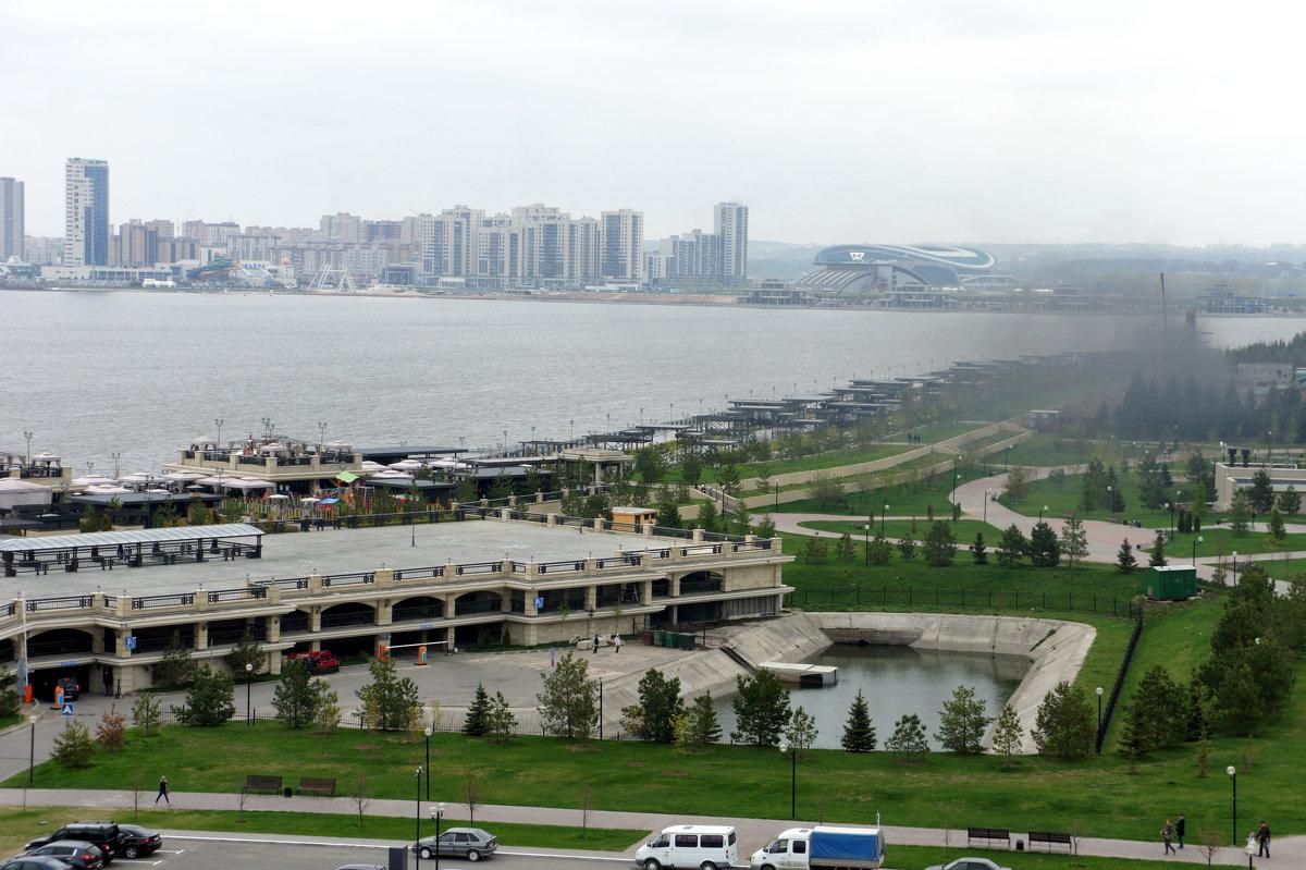 Вид на Казань со смотровой площадки Казанского кремля - Елена Смолова