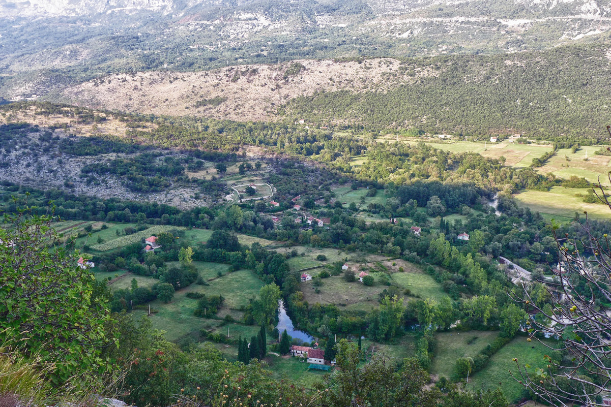 Вид на окрестности монастыря - Светлана Игнатьева