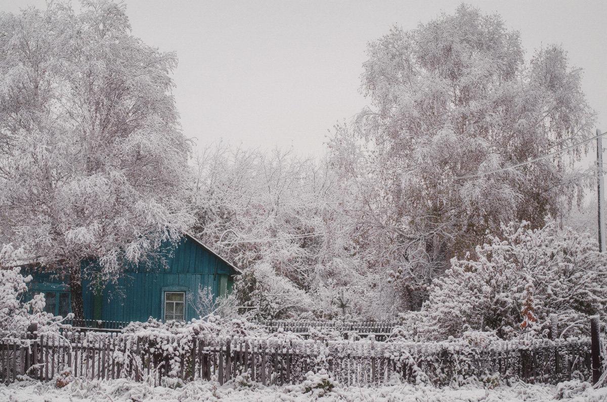 Снежный домик - Larissa