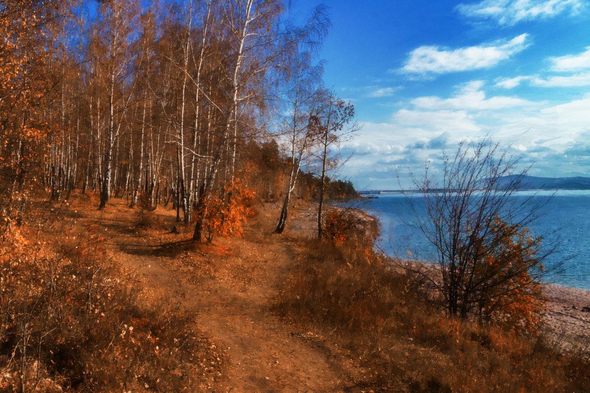 Осень. Картина маслом. - Андрей Борисенко
