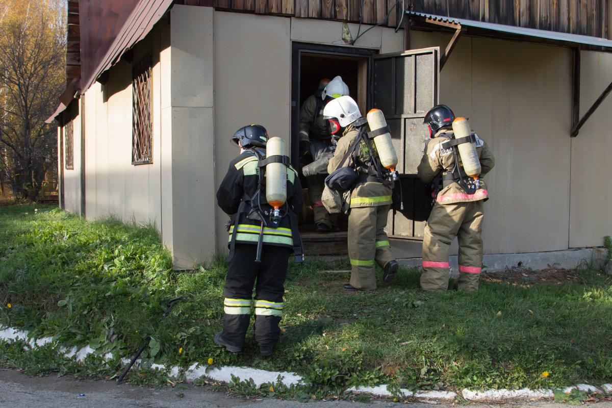 Выход из задымленного здания - Юлия Уткина