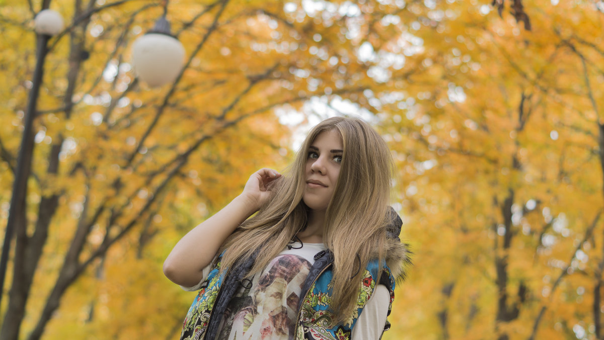 Осень Настя - Виктория