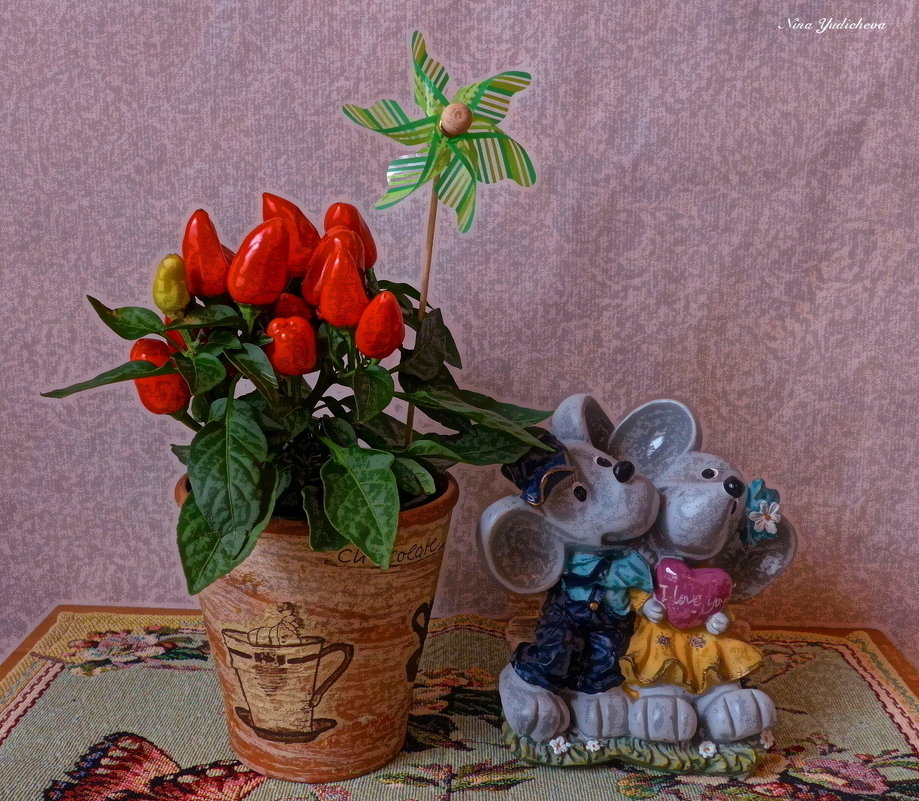 Жгучие страсти - Nina Yudicheva