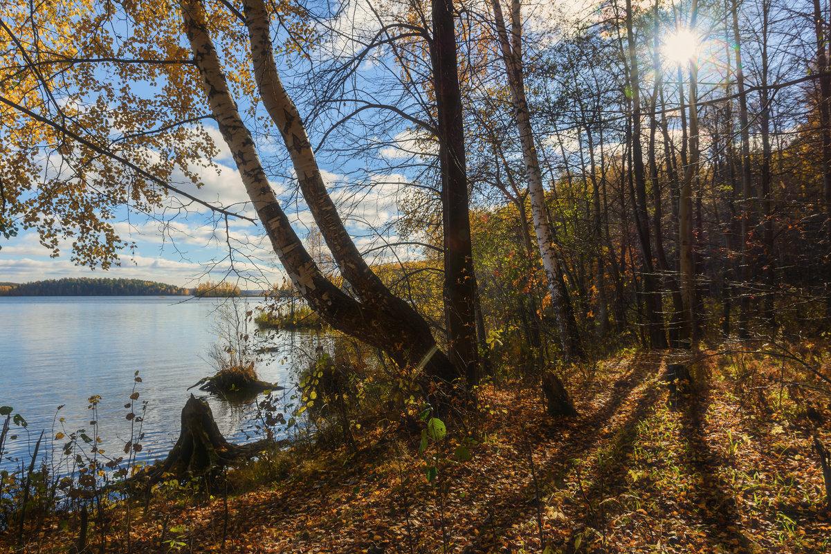 Осенний берег - vladimir