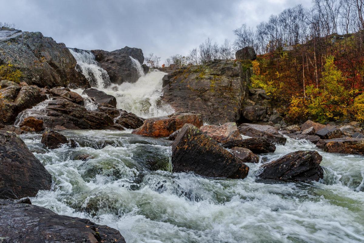 Водопад на реке Юринге - Владимир Колесников