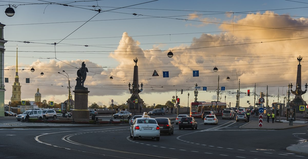 Троицкий мост - ник. петрович земцов