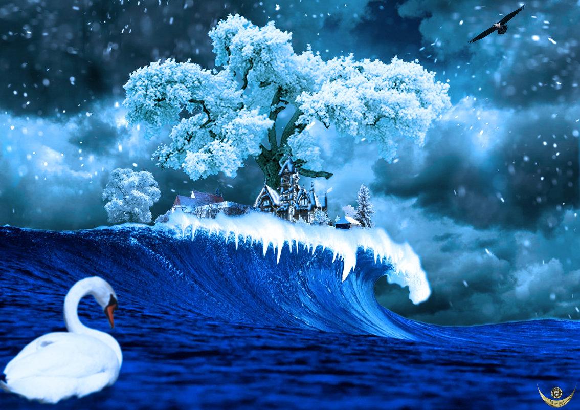 Зима на острове Буяне - Андрей Щетинин