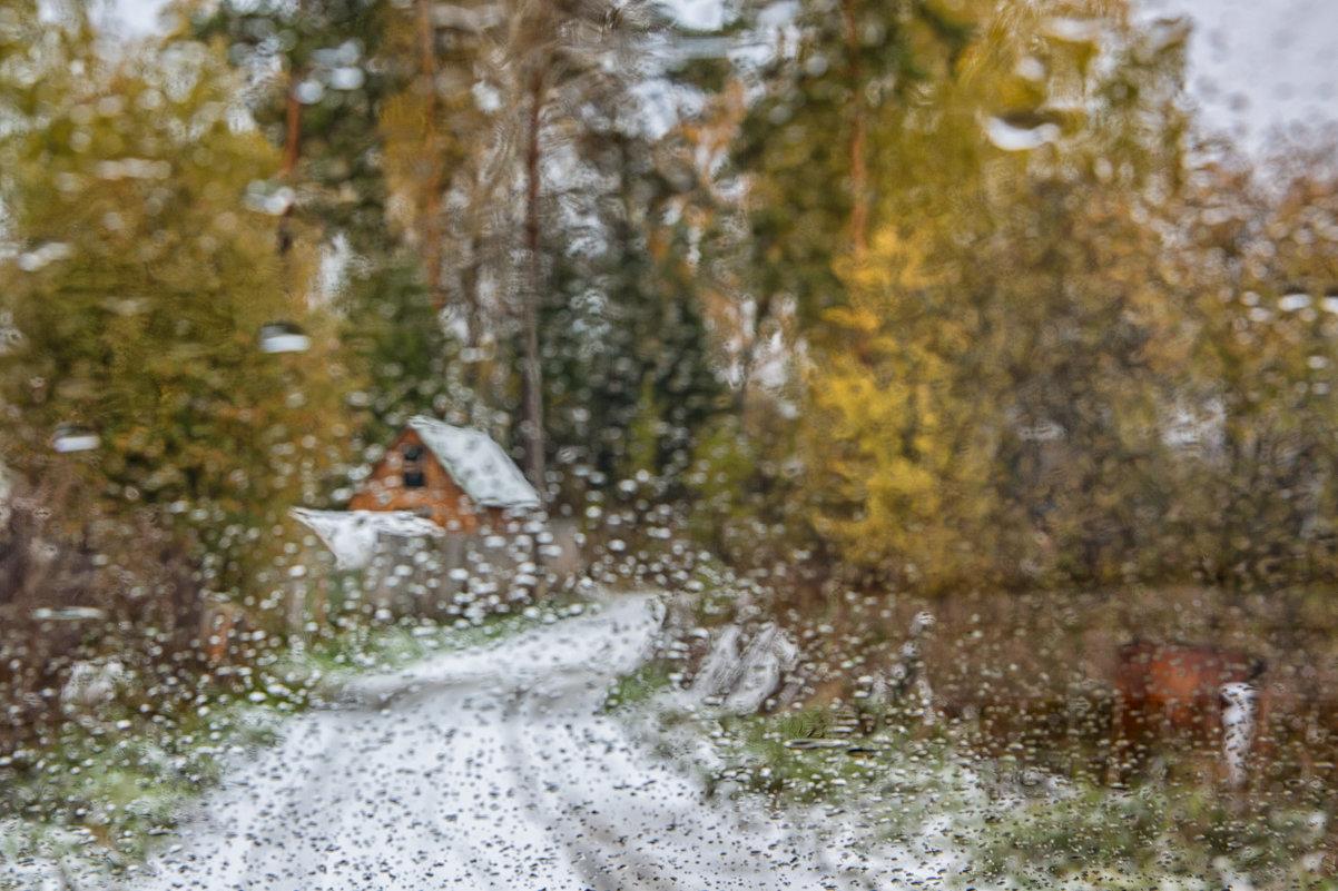 первый снег. вспоминая Jacob Abraham Camille Pissarro - Дмитрий Карышев