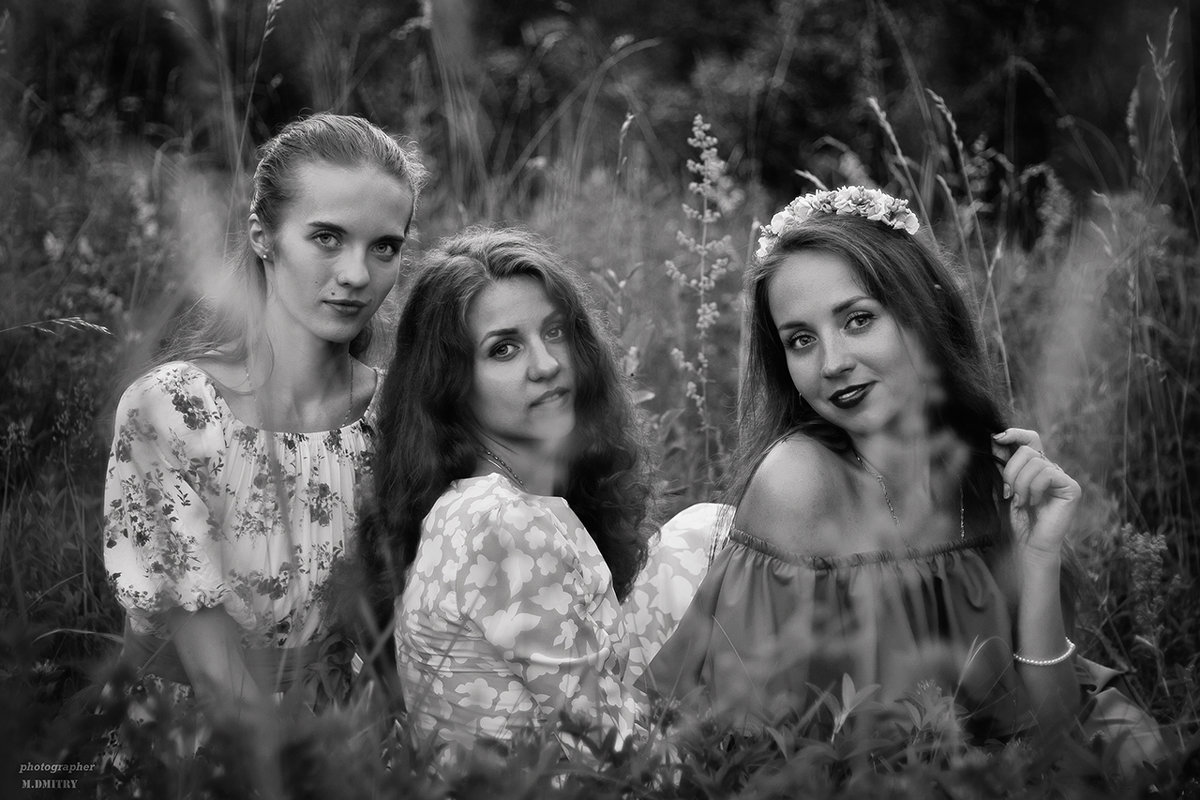 ч/б лето - Дмитрий М