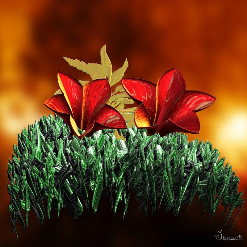 цветочный луг - linnud