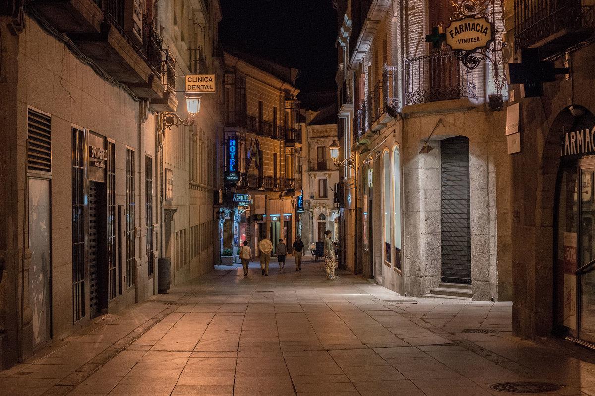 Ночная улица Сан-Себастьяна - Dimirtyi