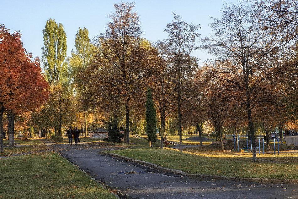 Осенний бульвар - Ирина Приходько