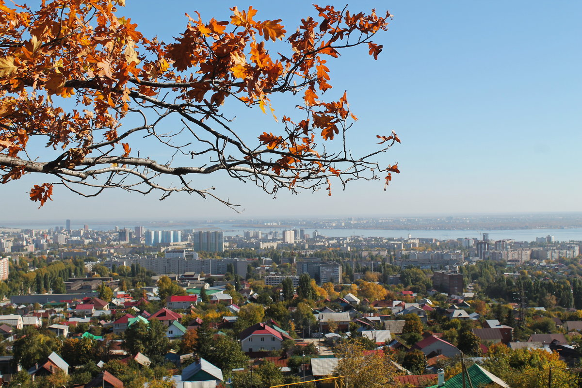 Осень над Саратовом - Лариса Коломиец