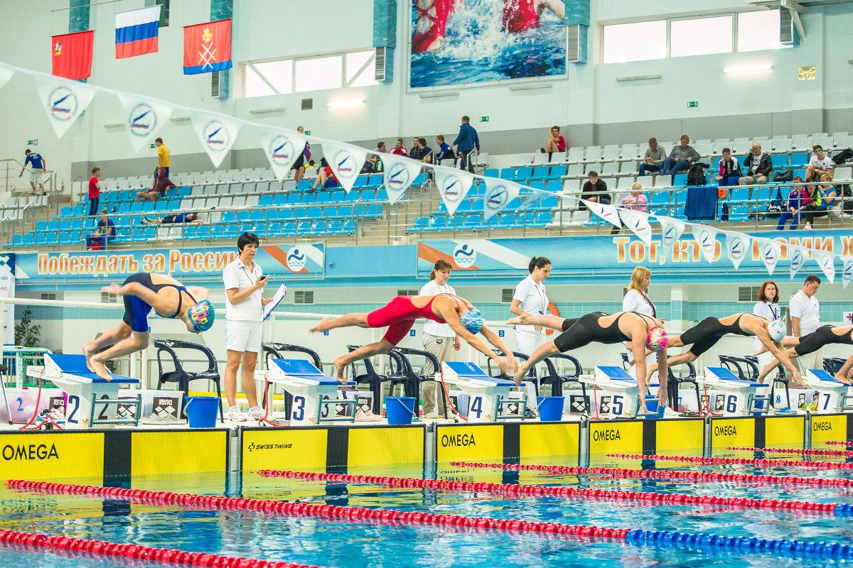 Чемпионат России по плаванию-2016 . г.Руза - Андрей Куприянов