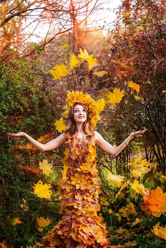 Девушка-Осень - Анна Миронова
