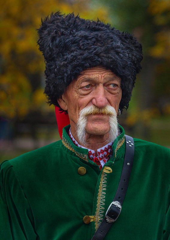 Портрет казака. - Павел Петрович Тодоров