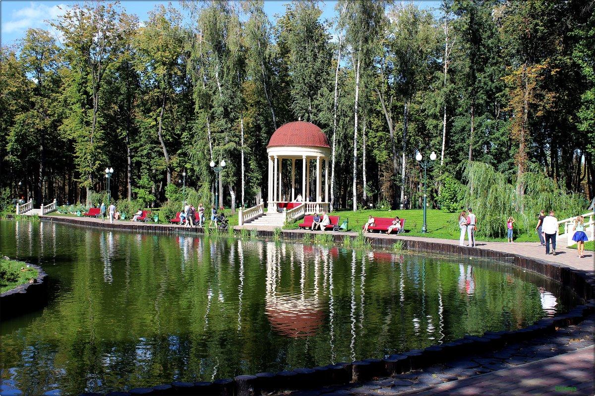Беседка около пруда - Татьяна Пальчикова