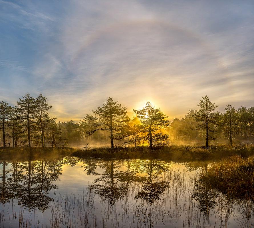 Солнечное гало на рассвете - Фёдор. Лашков