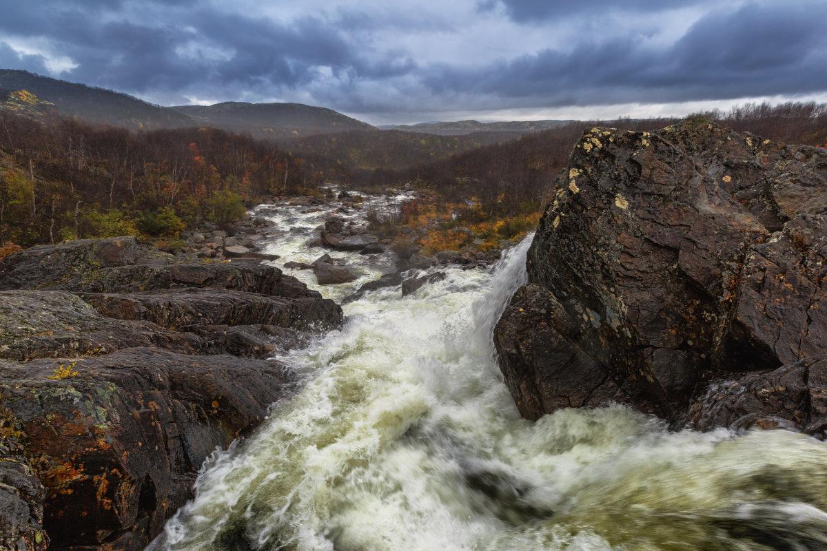 Водопад на Юринги - Владимир Колесников
