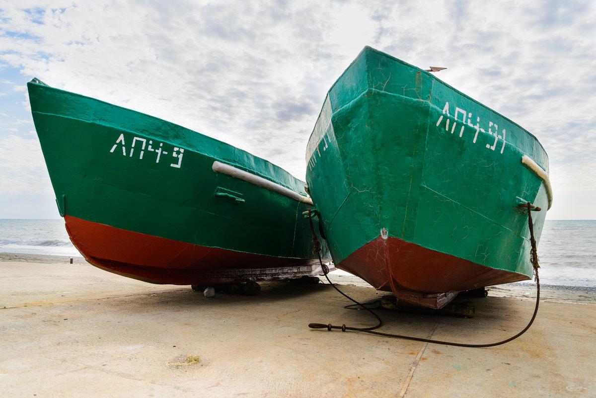 Рыбацкие лодки - Сергей Кучеренко