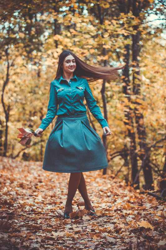 Осеннее настроение - Julia Obraz