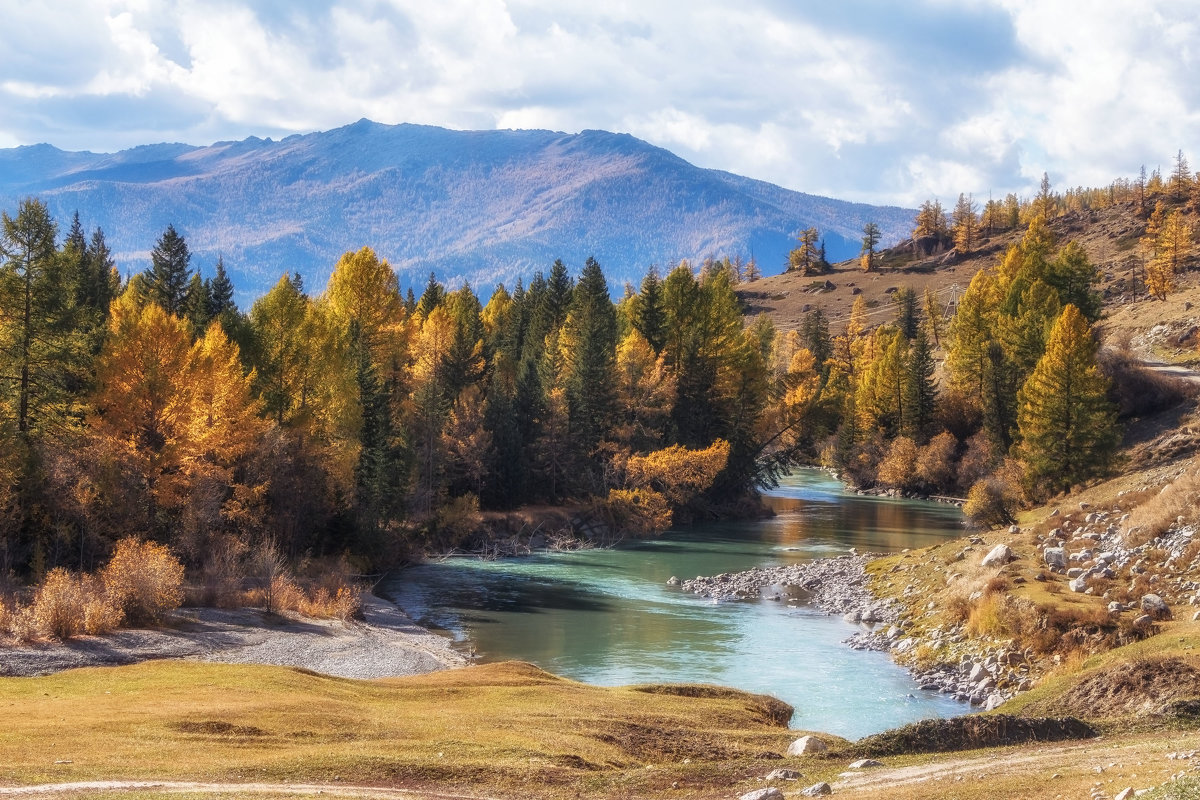 река Джазатер - Галина Шепелева