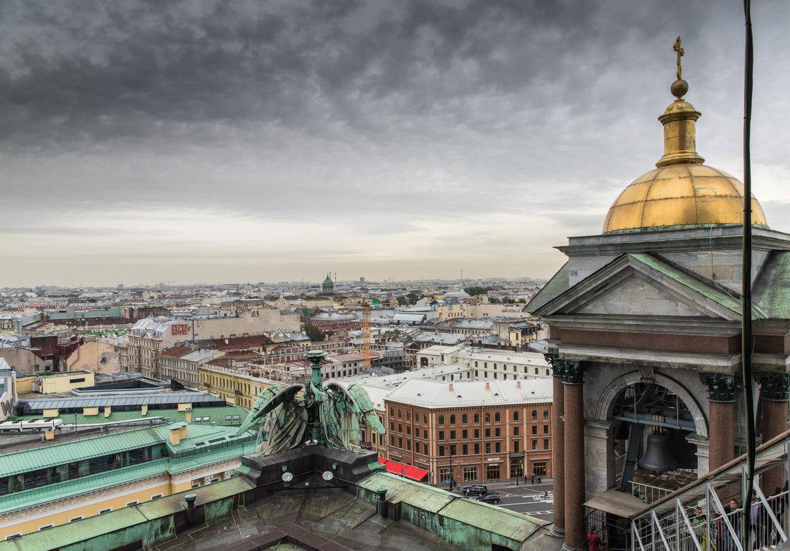 колоннада исаакиевского собора - Сергей Сотников
