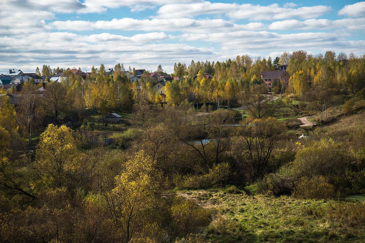 осень в деревне - Тамара Цилиакус