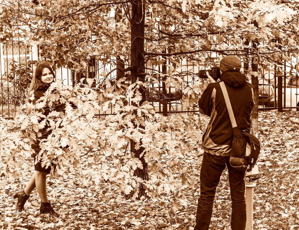 Осень - лучшее время для фотосессий! - Владимир Безбородов