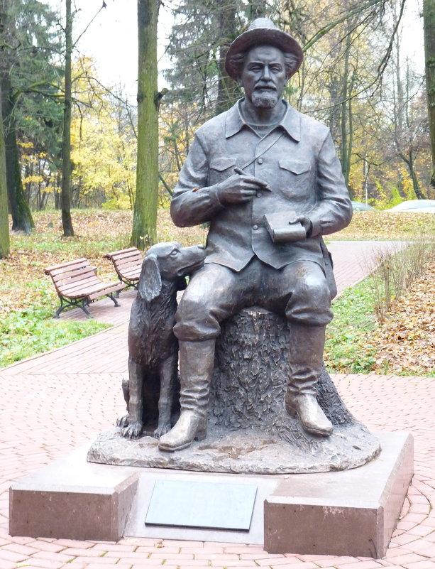 Памятник Пришвину в Сергиеве Посаде - Galina Leskova